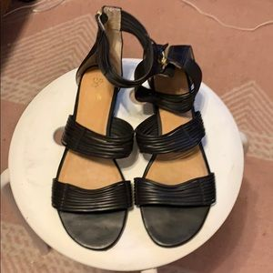 Nice Sychelles Sandals black